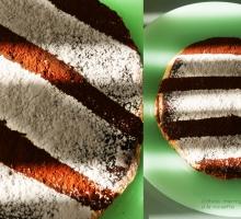 Gâteau meringué à la noisette et ganache au chocolat