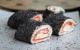 Makis de pain de mie au saumon fumé