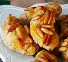 Croissants aux pignons de pin