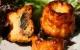 Cannelés salés aux aubergines et chorizo