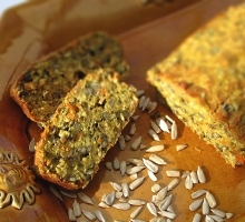 Terrine Végétarienne (sans gluten, sans lactose)