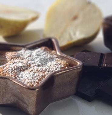 Amandines poire chocolat