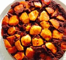 Gâteau fondant pommes chocolat (sans gluten, sans lactose)